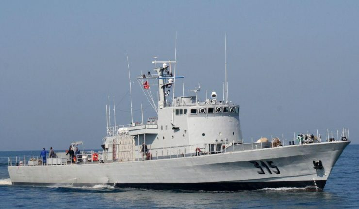 Patrullera de la Marina Real marroquí