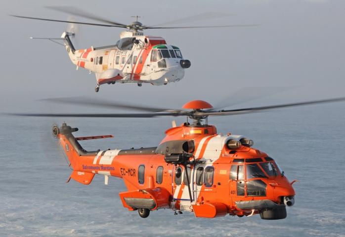 Helicópteros de Sasemar